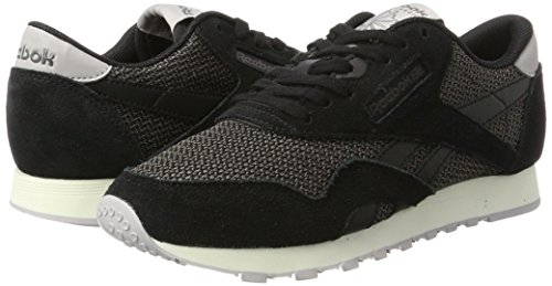 Grey Breathability Nylon Noir Classic Femme Grey urban Reebok Basses chalk blanc Whisper black qFPwER