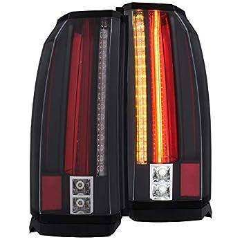 Image of ANZO USA 311275 GMC Yukon/XL/Denali 15-19 L.E.D Tail Lights Black Tail Light Assemblies