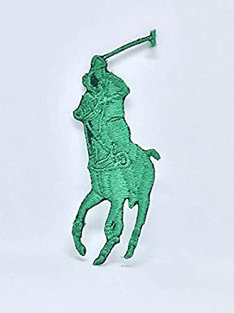 Polo Logo Patch Biker Patch Ralph Lauren Polo Stickerei Iron On Sew