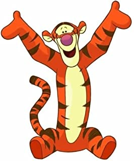 Amazoncom Tigger Bumper Sticker Automotive Car Decal