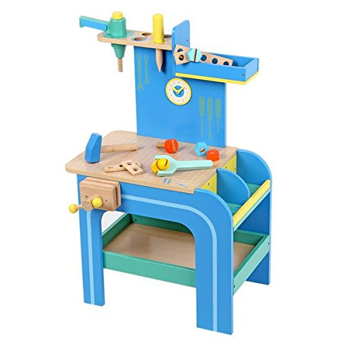 MENTARI Wooden Toys - Workbench Model Kit - Learn and Play - educational – Save Toys – Wooden Toys – Design in Taiwan – Manufacture in Indonesia - SVLK certified.