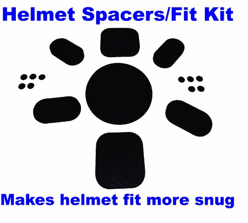 Aftermarket Upgrade Fit Kit Universal Pads for Army Ach Mich Helmet with Sticky Back Hook Side Dot Fasteners