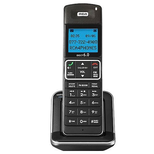 YBS RCA Dect 6.0 Accessory Cordless Handset for the 2111 and 2112 Series with Caller ID and Hearing Aid Compatible