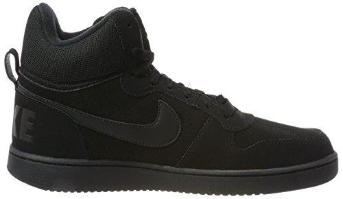 002 Borough black Court Mid Nike Wmns Deporte Negro black De Mujer Para Zapatillas gxpTw47