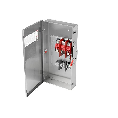 Siemens HF365SA 3 Pole Fusible Type 4X Stainless Steel Heavy Duty Safety Switch, 600V/400 Amp by Siemens (Image #2)