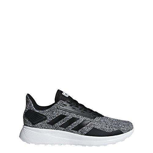 Adidas Duramo 9 Zapatillas de Running para Hombre, Negro/Negro/Blanco, 9.5 M US