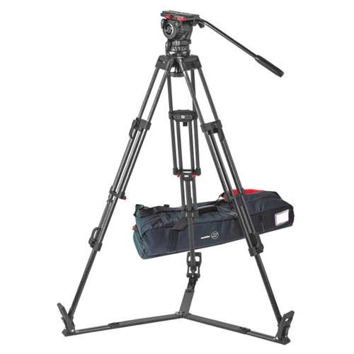 Sachtler ENG 2 CF Carbon Fiber Tripod with FSB 10 Head, Sideload, 8.82-26.46lbs Tripod Capacity, 24.41-66.14