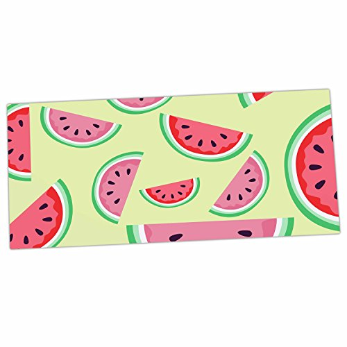 "KESS InHouse afe images ""Watermelon Background"" Pink Food..."