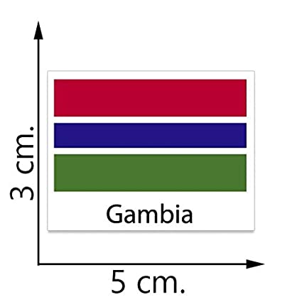 Gambia flag temporary tattoos sticker body tattoo