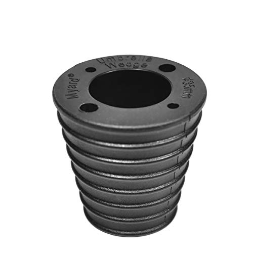 Myard MP UW35HA Umbrella Cone Wedge Spacer for Patio Table Hole Opening or Base 1.8 to 2.4 Inch, Umbrella Pole Diameter 1 3/8