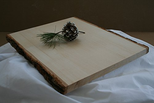 Christmas Tablescape Decor - American Northern Michigan Basswood Plank