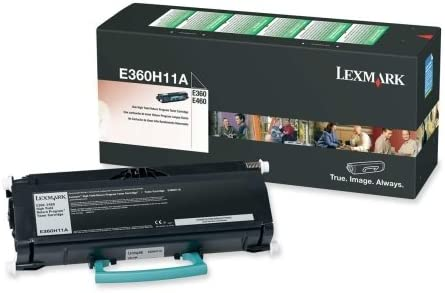 Lexmark E360H11A Return Program High-Yield Cartridge for E260//360//460 Black