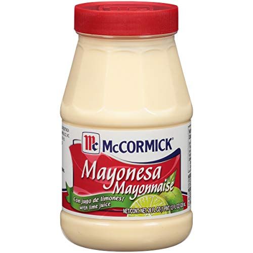 Amazon.com : McCormick Mayonesa (Mayonnaise) With Lime Juice, 28 fl oz : Grocery & Gourmet Food