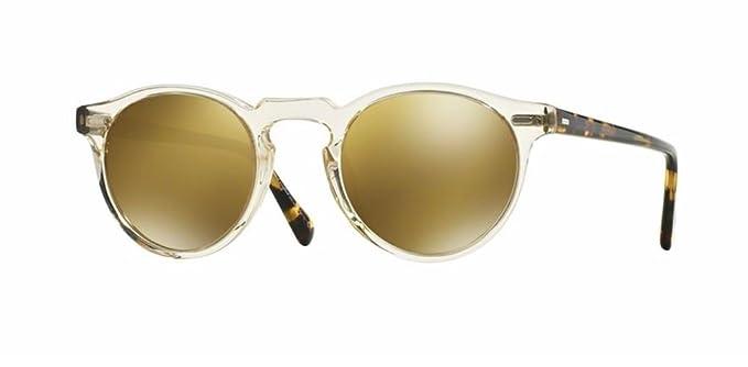 58e669e5d82 Oliver Peoples - Gregory Peck Sun - 5217 47 - Sunglasses (BUFF DARK TORTOISE