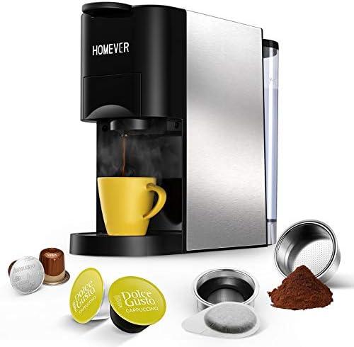 Nespresso Machine, HOMEVER 4 in 1 Multi-
