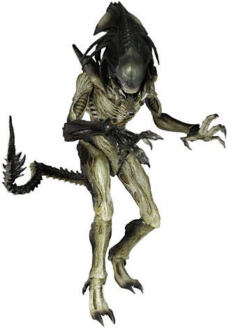 Sideshow Collectibles Hot Toys Movie Masterpiece Alien Vs. Predator: Requiem 16 Inch Model Figure Alien Hybrid [Predalien]
