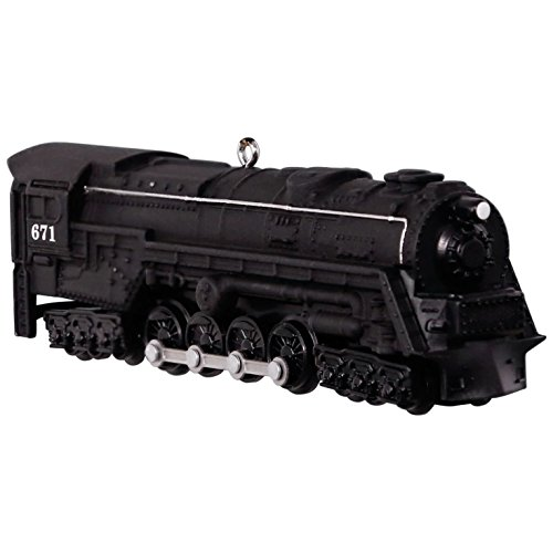 Hallmark Keepsake 2017 LIONEL Trains 671 S-2 Turbine Steam Locomotive Christmas Ornament (Christmas Memories Collector)