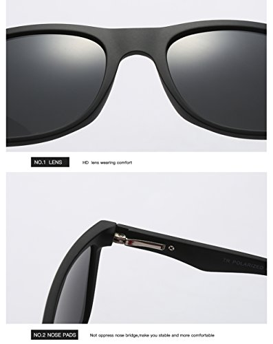 Polarizadas para C2 400 C3 UV para Sol Protección Aviator Gafas Hombre Mujer De FH1EaFnxZ