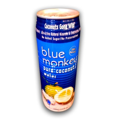 Blue Monkey Coconut Water No Pulp 96x 17.6OZ by Blue Monkey