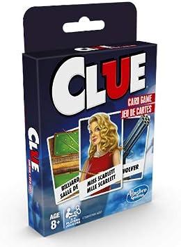 Hasbro E7589UC0 Clásico Tarjeta Viaje Game-Clue: Amazon.es: Juguetes y juegos