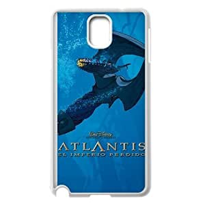 Samsung Galaxy Note 3 Phone Case White Atlantis The Lost Empire CXF345203