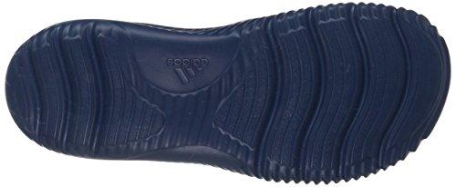 Adidas Performance Heren Alphabounce Bb Glijbaan Atletisch Sandaal Wit / Kernblauw Mysterie Blauw S