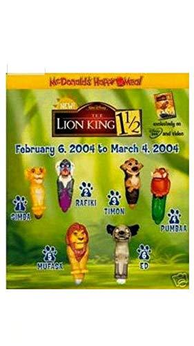 Buy mcdonalds lion king figures