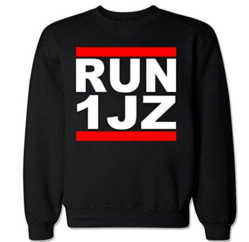 FTD Apparel Men's Run 1JZ Crew Neck Sweater