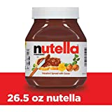 Nutella Chocolate Hazelnut Spread, Perfect Topping for Pancakes, 26.5 Oz Jar