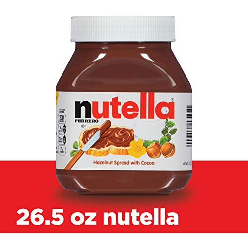 Nutella Hazelnut Chocolate Spread - Nutella Chocolate Hazelnut Spread, 26.5 oz Jar