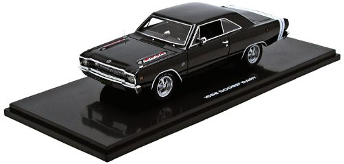 Highway 61 Dodge Dart GTS 1968 Gloss Black 1:43 Model 43000