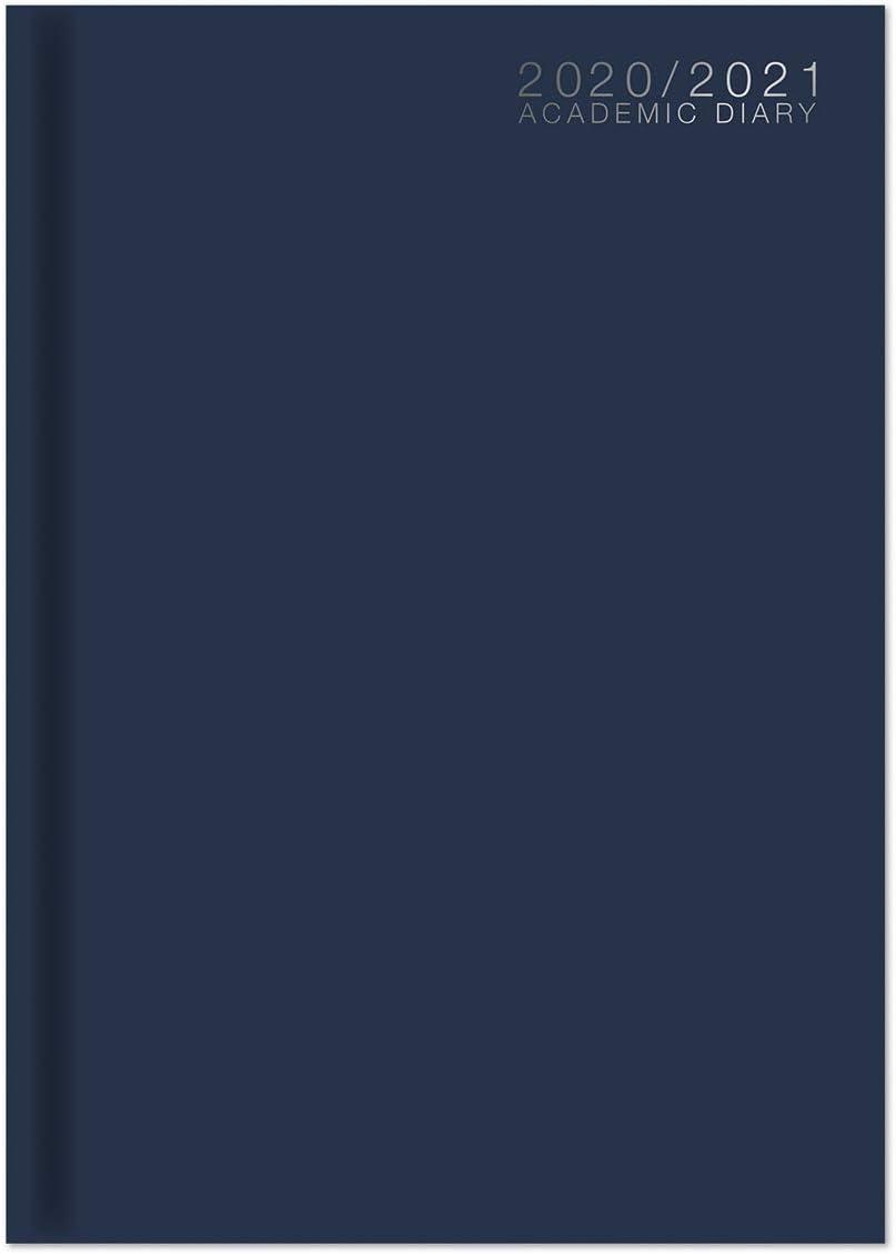 Agenda scolaire A4 2020-2021 Semainier /à couverture reli/ée milieu dann/ée /étudiant a4 violet