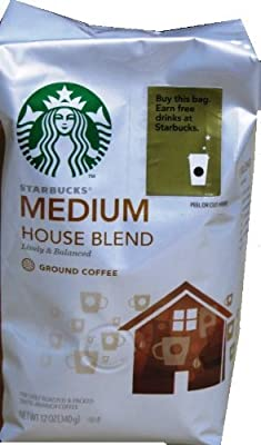 Starbucks House Blend Ground Coffee from Starbucks