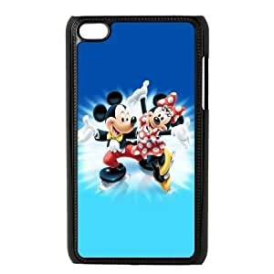 iPod Touch 4 Case Black Mickey Mouse 15 K7N7MM