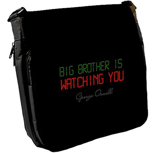 Big Brother is - George Orwell Unisex Umhängetasche