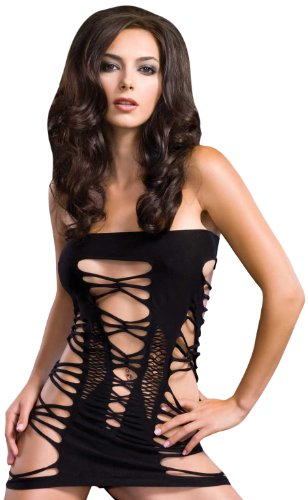 Leg Avenue Women's Strappy Spandex Tube Dress