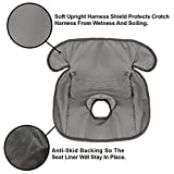 Piddle Pad Car Seat Protector by ToeToNose Waterproof Liner- for...