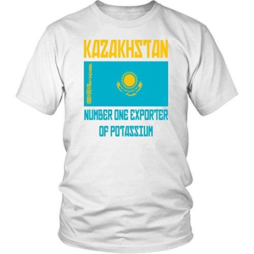 Borat T-shirt Funny (Kazakhstan Number One Exporter of Potassium - Unisex T-Shirt - Borat Quote)