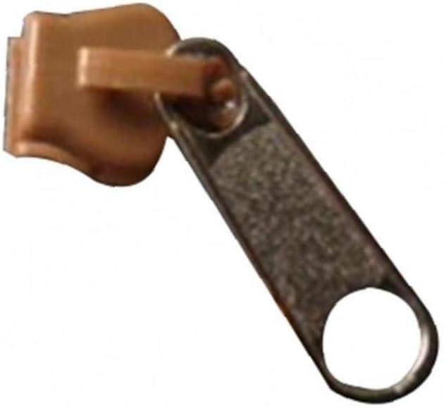 Aisoway 6pcs Universal Zipper R/éparation R/épare Les Zip De Remplacement Zippe Curseur Dents Zippers