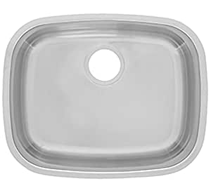 where to buy kitchen sinks kindred rsu1721 188k reginox undermount single bowl 1721