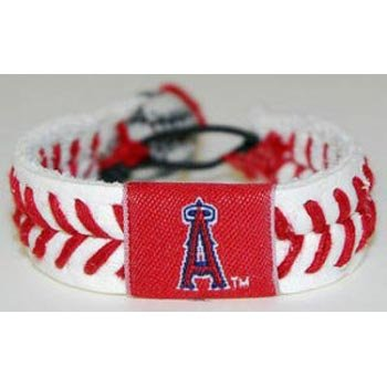 (Los Angeles Angels of Anaheim Classic Baseball Bracelet)