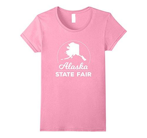 [Womens Alaska T Shirt XL Pink] (Alaska Womens Pink T-shirt)