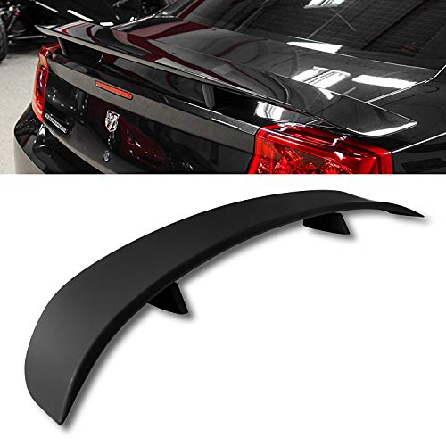 Modifystreet For 06-10 Dodge Charger Factory Style Flush Mount Rear Trunk Spoiler Wing