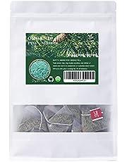 100% Natural Dried Pine Needle Tea [China Medicinal Herb] Grams per Bag (25 Count (Pack of 1))