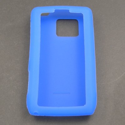 Blue Silicone Skin Case for Verizon LG Dare VX9700 (Lg Dare Vx9700 compare prices)