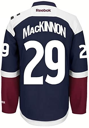 e95fb7c0a16 Nathan MacKinnon Colorado Avalanche Reebok Premier Third Jersey NHL  Replica, Jerseys - Amazon Canada