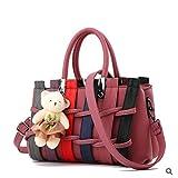 Women Handbags 2018 Genuine Leather Female Fashion Handbag Crossbody Shaped Sweet Messenger Shoulder Bag,Lavender