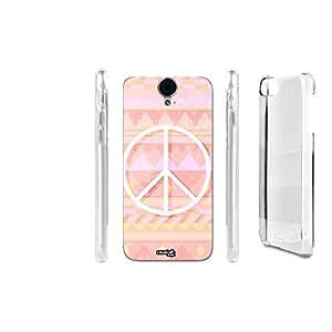 FUNDA CARCASA PACE IN ROSA PARA HTC ONE E9 PLUS