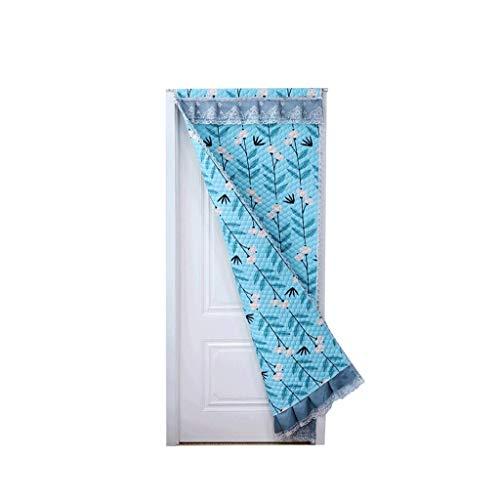 ZGXL Puerta Cortina Invierno Espesar Casa Habitación Sala Aislamiento Parabrisas Protección contra El Frío Aislamiento...