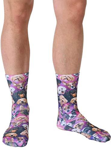 Living Royal Photo Sublimation Crew Socks |